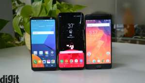 LG G6 vs Samsung Galaxy S8+ vs OnePlus 3T: Design comparison