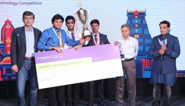 Microsoft announces India winners of its 15th Imagine Cup