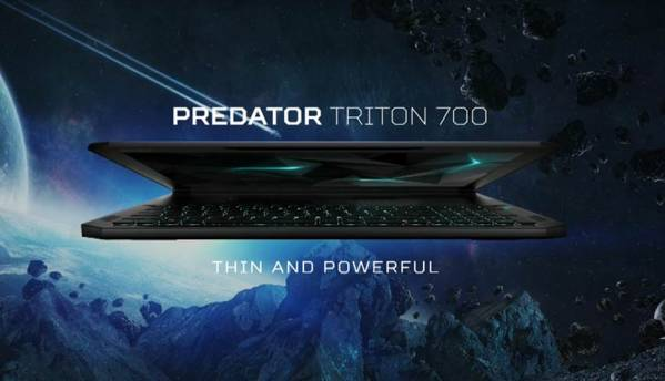 Acer launches the Predator Triton 700, a high end thin and light gaming laptop