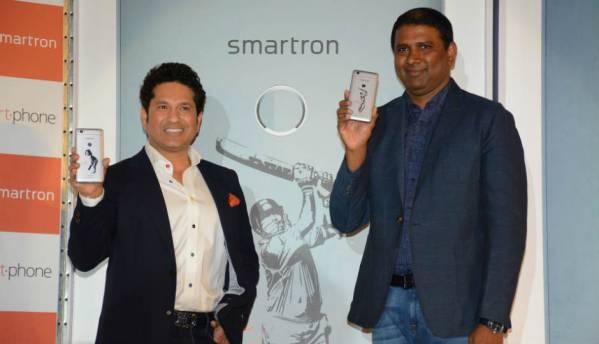 Sachin Tendulkar and Smartron launch srt.phone starting at Rs. 12,999