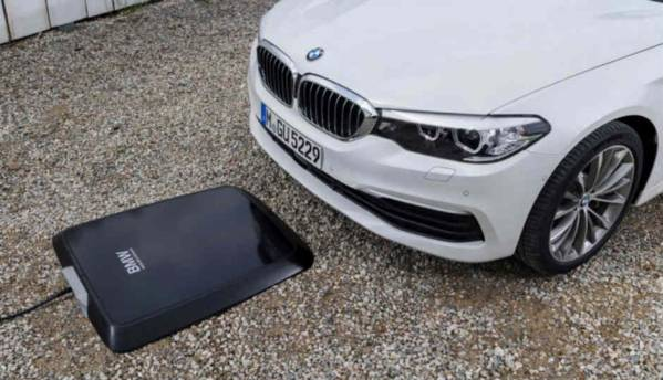2018 BMW 5 series plug-in hybrid to include wireless charging