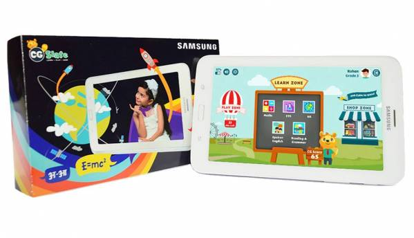 New educational 'CG Slate Plus' tablet launched in association with Samsung