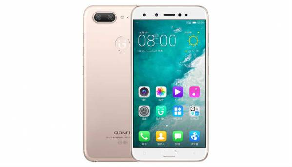 Gionee S10 with dual front and rear cameras launched in China