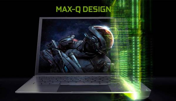 Max-Q announced by NVIDIA, 3x Thinner, 3x More Performance in gaming laptops