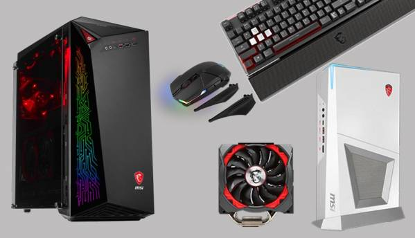MSI introduces all new gaming desktops and peripherals at Computex 2017
