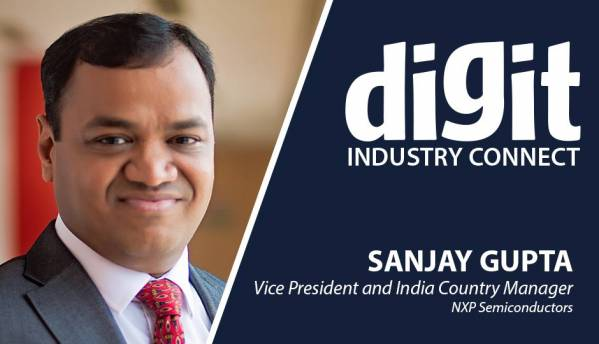 Discussing connected car security in India with Sanjay Gupta, NXP Semiconductors