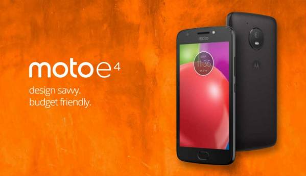 Moto E4 to launch in India soon at approximately Rs 8,500, reveals Mumbai-based retailer