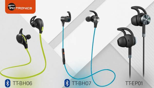 TaoTronics launches affordable active noise cancellation and bluetooth in-ear headphones in India