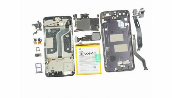 OnePlus 5 teardown reveals a sealed design