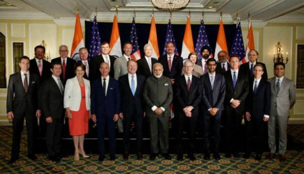 Modi in US: Tech CEOs express support for Digital India, Make In India, GST