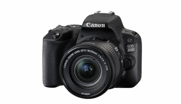 Canon EOS 200D DSLR with 24.2MP APS-C CMOS sensor launched in India