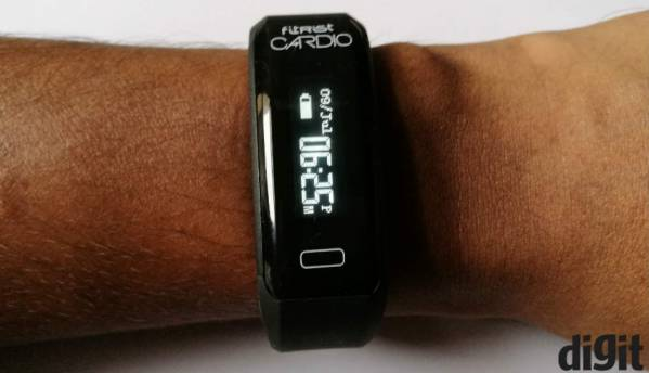 Intex Fitrist Cardio: Feature rich, but flawed