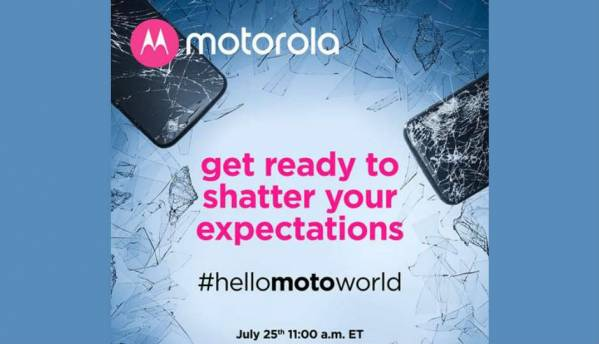 Motorola teases launch of another shatter-proof smartphone on August 25, might unveil Moto Z2 Force