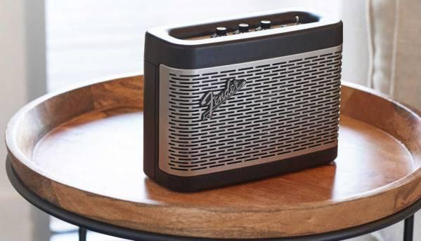 Fender enters the Bluetooth speaker market