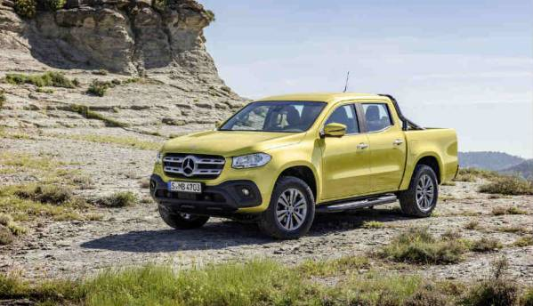 The Mercedes-Benz X-Class is the first pick-up truck ever by a luxury carmaker