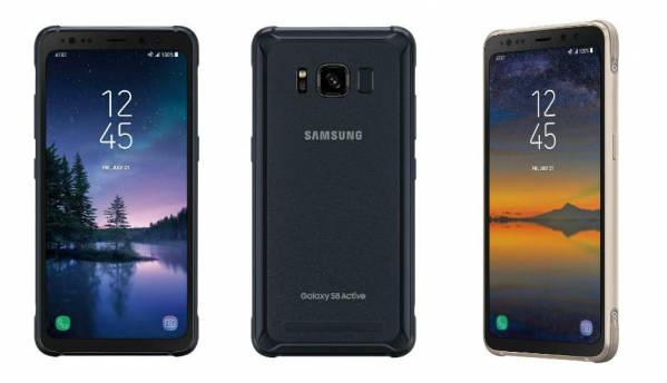 Samsung Galaxy S8 Active with 4000mAh battery, rugged build launched in US