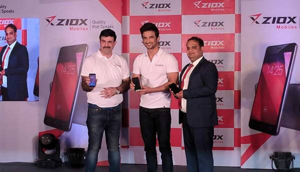Ziox Mobiles announces 'Sushant Singh Rajput' as its Brand Ambassador along with Rs. 300cr investment for FY 2017-18