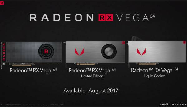 AMD Radeon RX Vega graphics cards now available globally