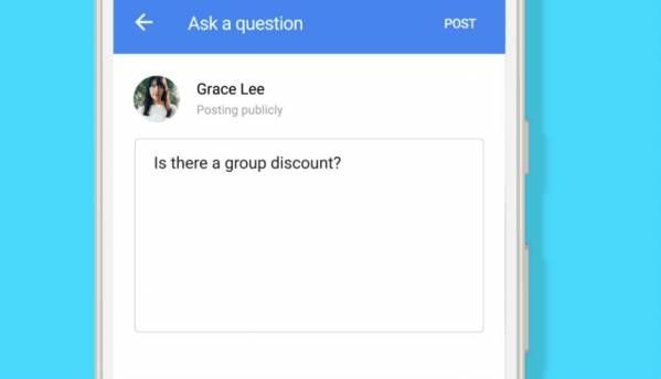 Google rolling out 'Question & Answers