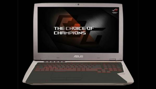 Asus ROG G701 gaming laptop with Nvidia GeForce GTX 1080 launched at Rs 3,49,990