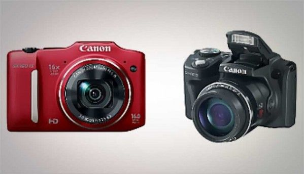 Canon announces new Powershot duo - SX160 IS and SX500 IS