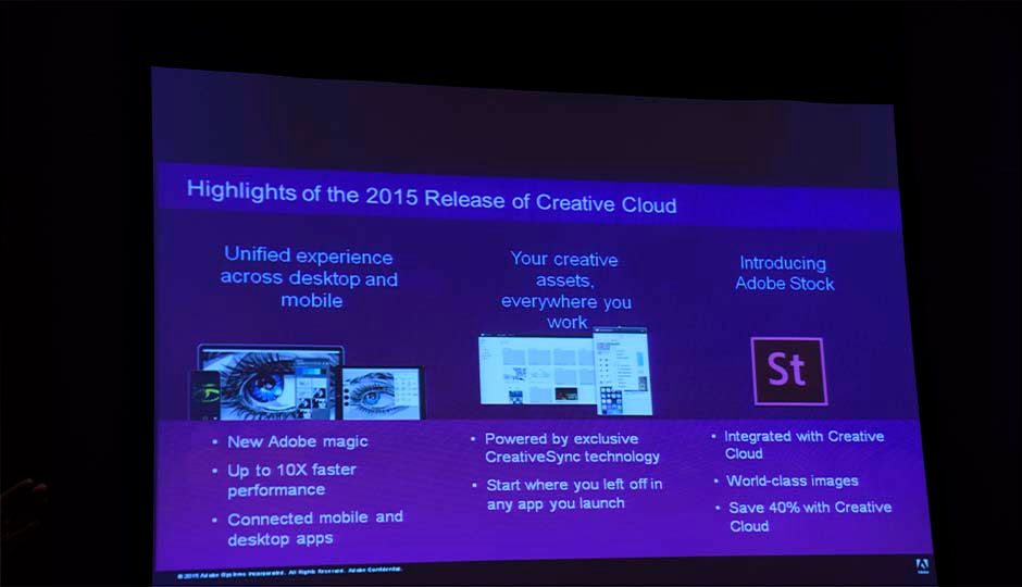 Highlights of the 2015 Release of Adobe Creative Cloud