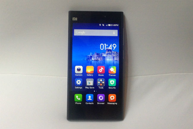 Right  moving on then  I got the chance to use the Xiaomi Mi3 for some    Xiaomi Mi3 Official