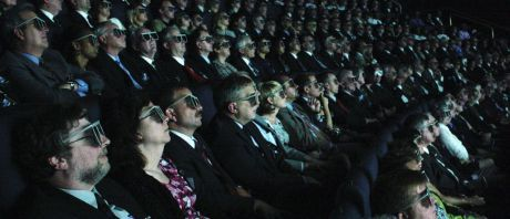 3D glasses cinema