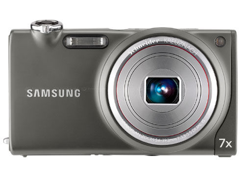 The Samsung ST5000 camera in grey