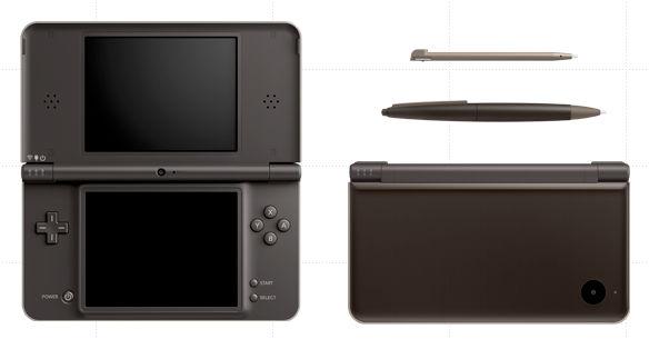 Dark Brown Nintendo DSi LL