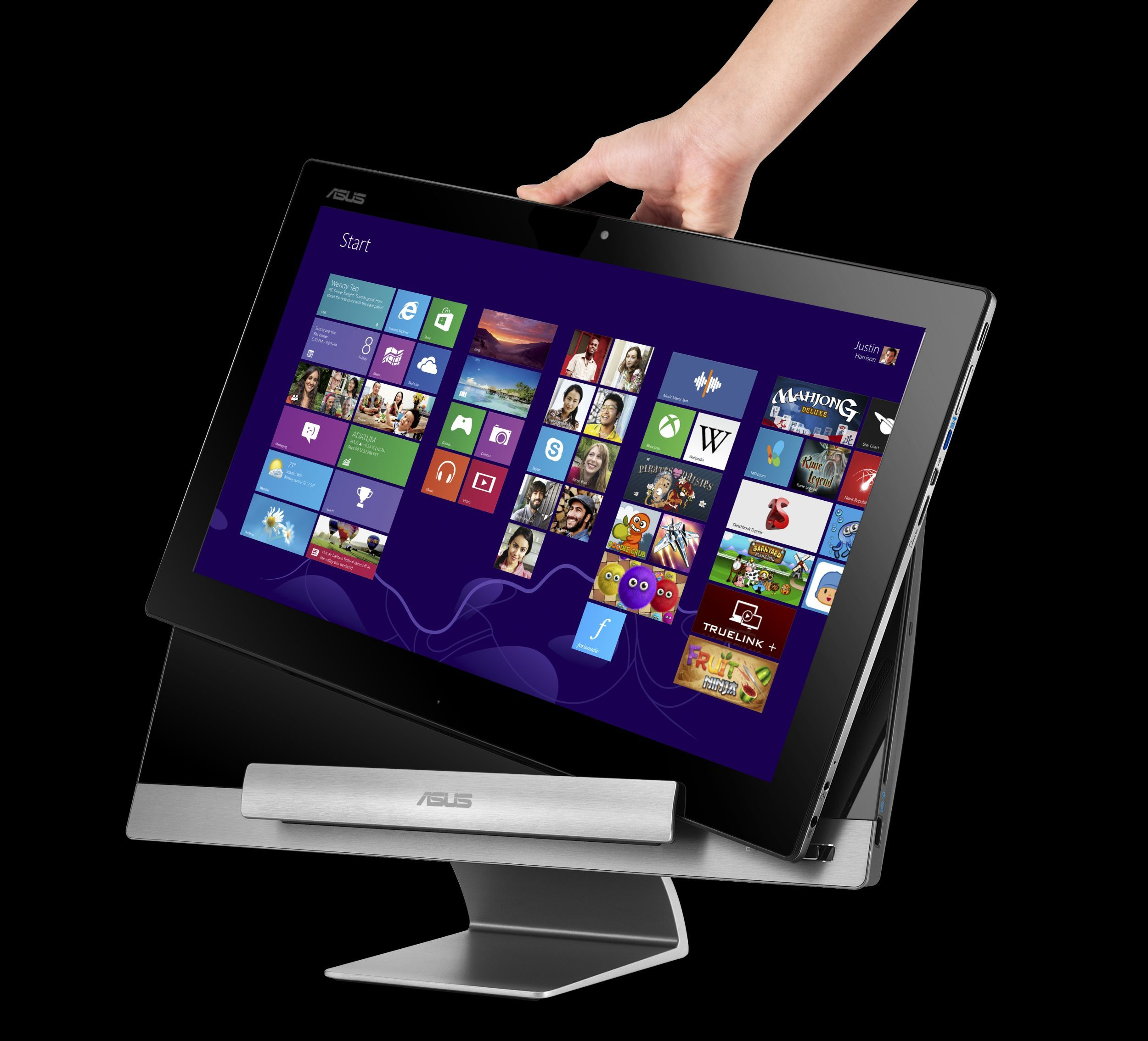 how to find the storage on asus transformer