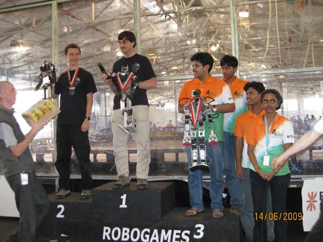 Team AcYut at Robogames