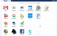 Chrome OS App Menu