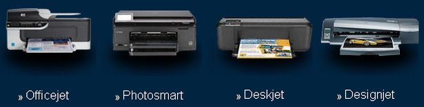 The HP family of inkjet printers