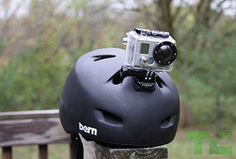 Helmet mounted cams need not be so complicated