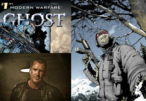 Modern Warfare 2 comic Ghost