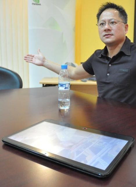 Nvidia CEO Jen-Hsun Huang Apple tablet Slate