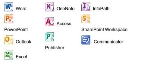 Microsoft Office 2010 package