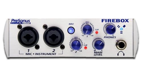 Presonus Firebox recorder