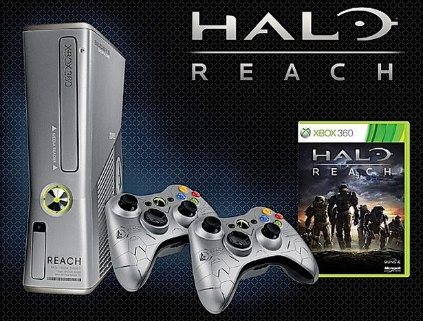 250GB Xbox 360 Halo: Reach bundle