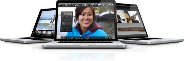 The New Macbook Pro Range