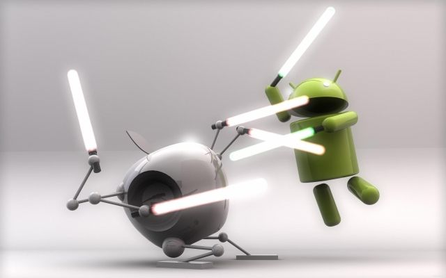 The Apple vs Android battle has been raging on for quite some time