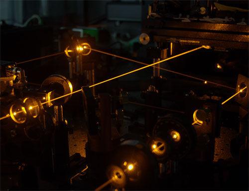 A transistor from LASERS. Credit: Martin Pototschnig