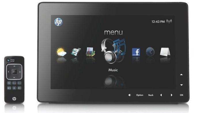 HP DreamScreen with remote
