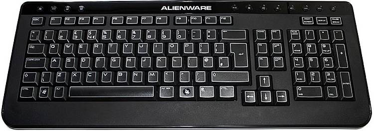 how to make my dell laptop keyboard light up