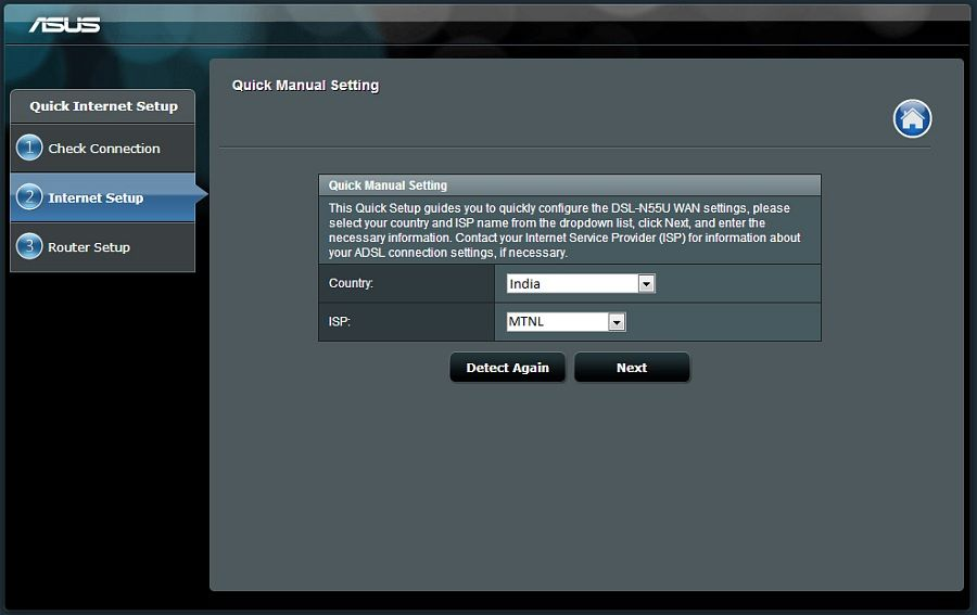 how to change the password for an asus router