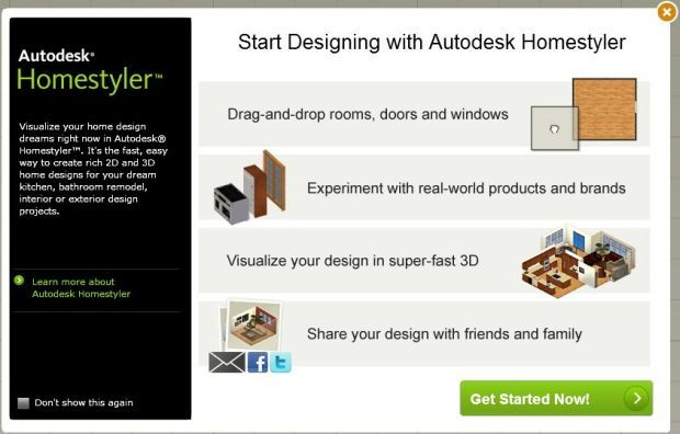 autodesk homestyler getting started