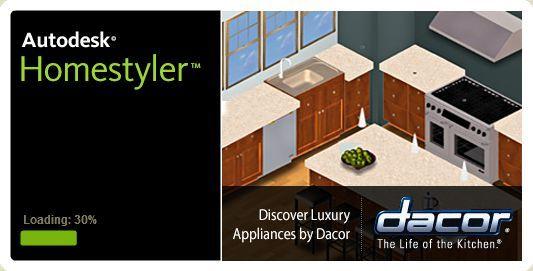 Autodesk Homestyler Loading