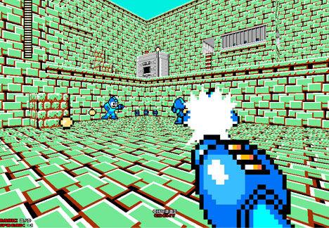 Mega Man mod for Doom 2