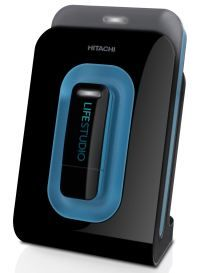 Hitachi LifeStudio Mobile Plus External HDD